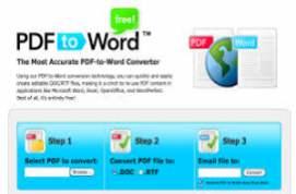 PDF To Word Converter Free 2